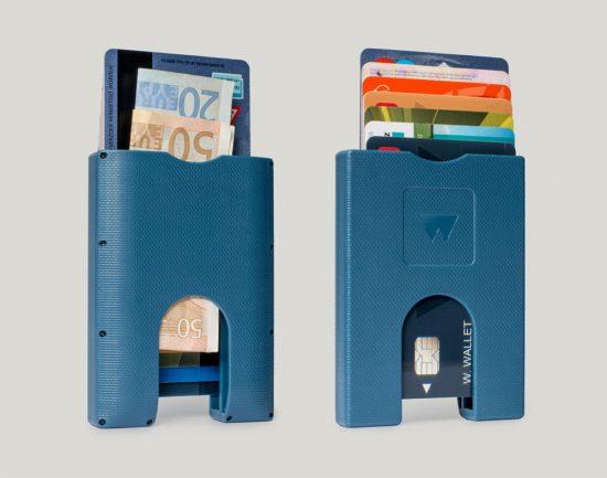 Walter Wallet Pasjeshouder true blue