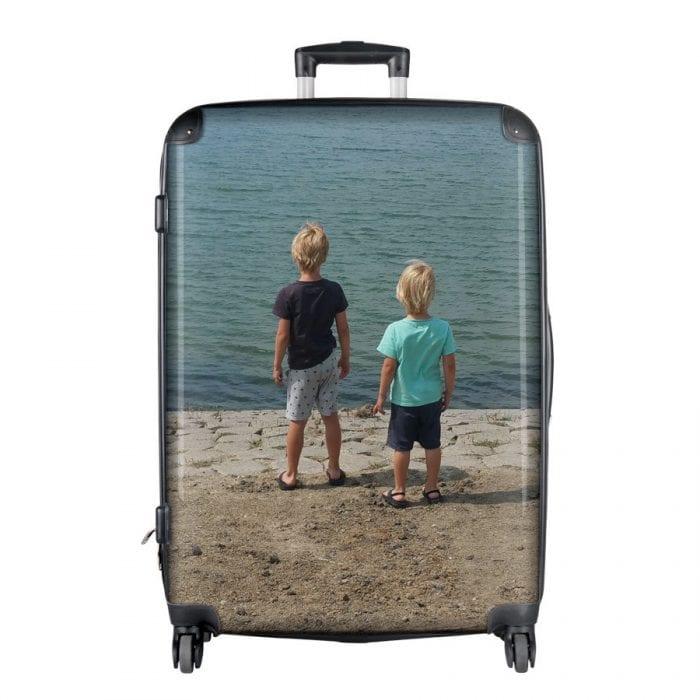koffer met foto