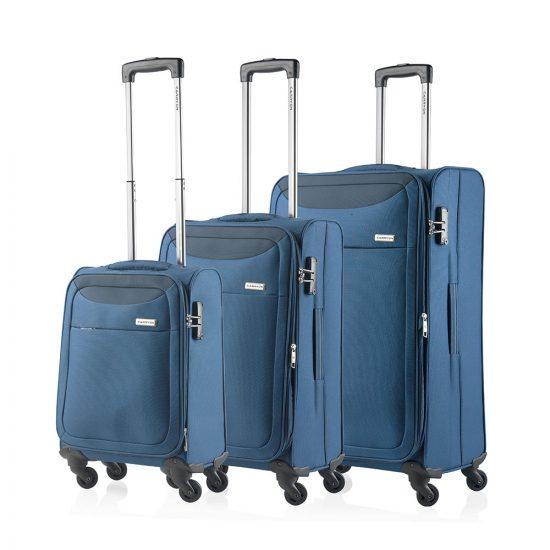 CarryOn Air 3-Delige Kofferset Steel Blue