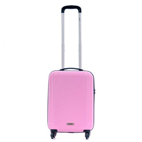 Line Leyton Handbagage 4 Wheel Spinner Pink