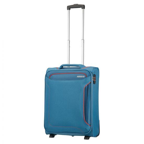American Tourister Holiday Heat Upright 55 Length 40 Denim Blue