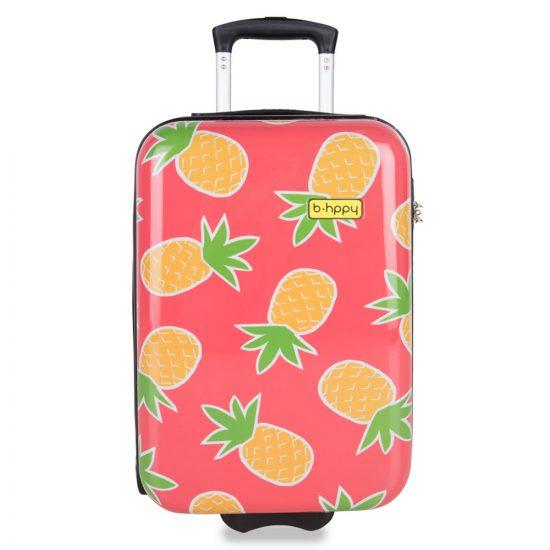 BHPPY Handbagage Koffer 55 Pretty Pineapple