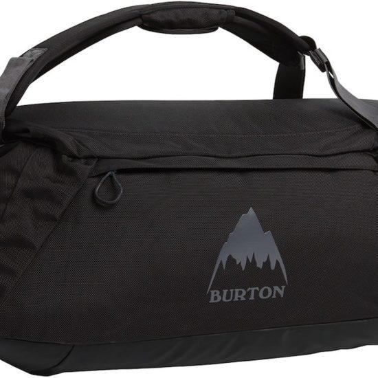 Burton Reistas Unisex Multipath Duffle 60 - True Black Ballistic - 60L