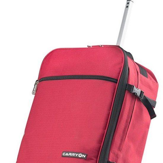 CarryOn - Daily - Trolley Rugzak 55cm en 44 liter - Handbagage - Backpack - Rood