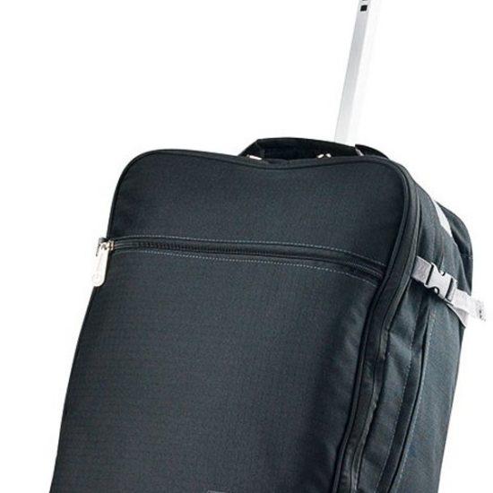 CarryOn - Daily - Trolley Rugzak 55cm en 44 liter - Handbagage - Backpack - Zwart
