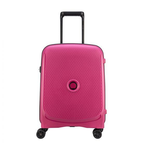 Delsey Belmont Plus Cabin Slim Spinner 55 Pink