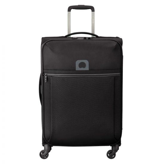 Delsey Brochant Trolley Case 4 Wheel 67 Black