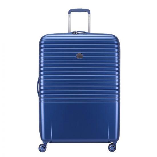 Delsey Caumartin Plus 4 Wheels Trolley 76 Blue
