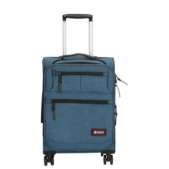 Enrico Benetti Montgomery koffer 55 cm jeans