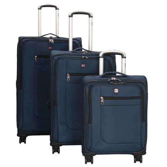Enrico Benetti Seattle kofferset 3-delig blue