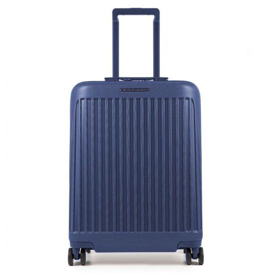 Piquadro Seeker Ultra Slim Cabin Spinner 55 Night Blue