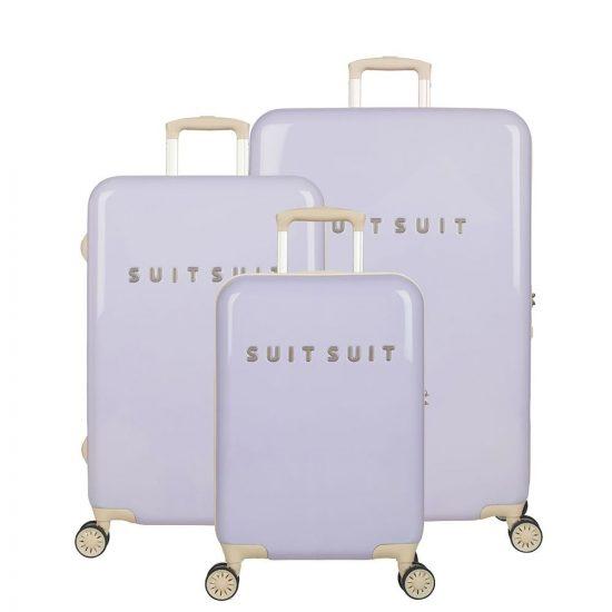 SUITSUIT Fabulous Fifties kofferset 3-delig paisley purple