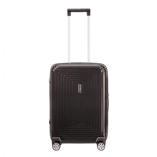 Samsonite Neopulse Spinner 55 Width 23 cm metallic black Harde Koffer