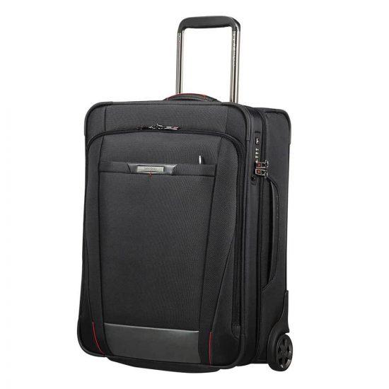 Samsonite Pro-DLX 5 Upright 55 Strict black Zachte koffer