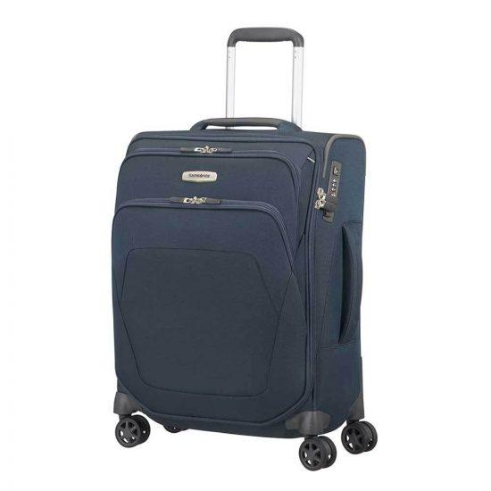 Samsonite Spark SNG Spinner 55 blue Zachte koffer
