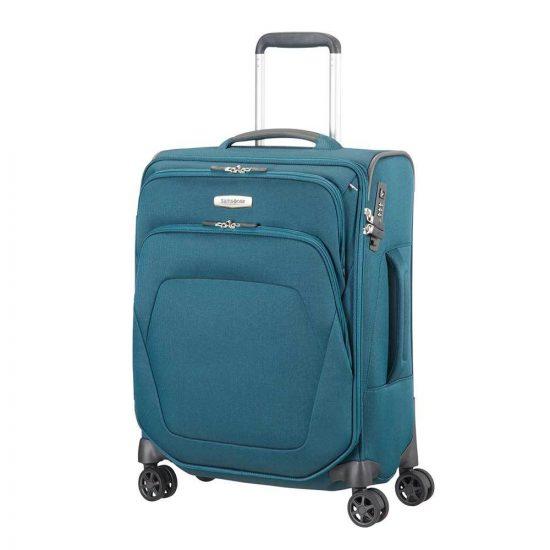 Samsonite Spark SNG Spinner 55 petrol blue Zachte koffer