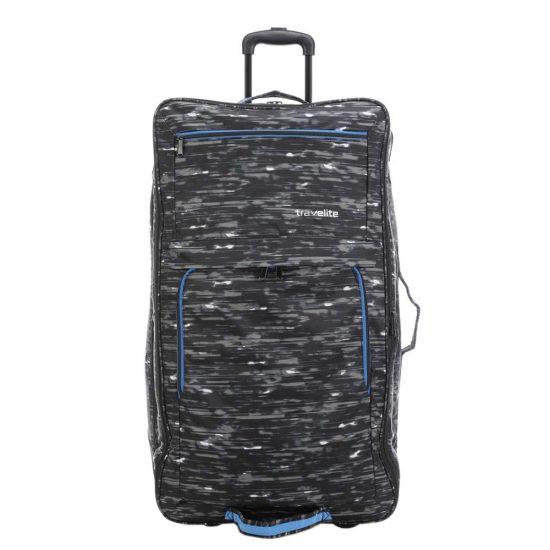 Travelite Basics Doubledecker Duffle black print Reistas