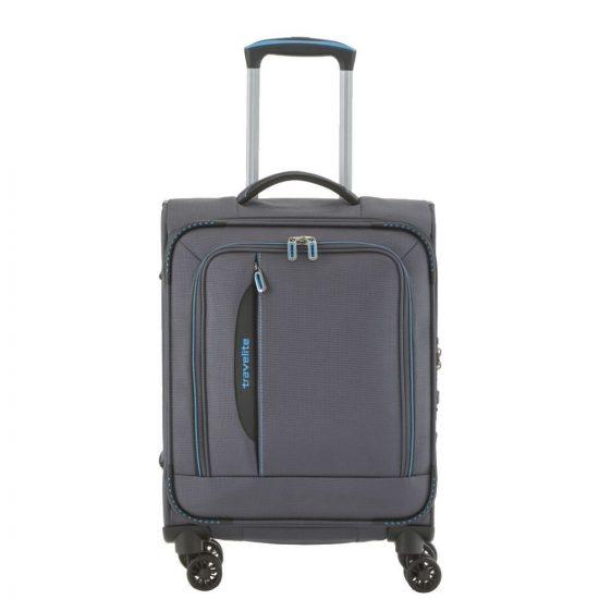 Travelite Crosslite koffer 55 cm antraciet