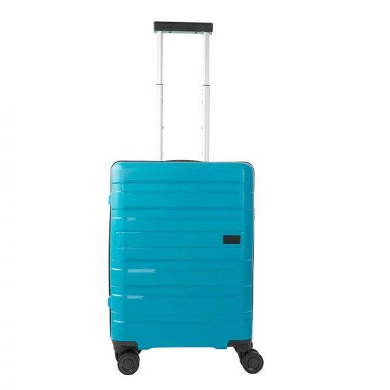Travelite Kosmos 4 Wiel Trolley S aqua Harde Koffer