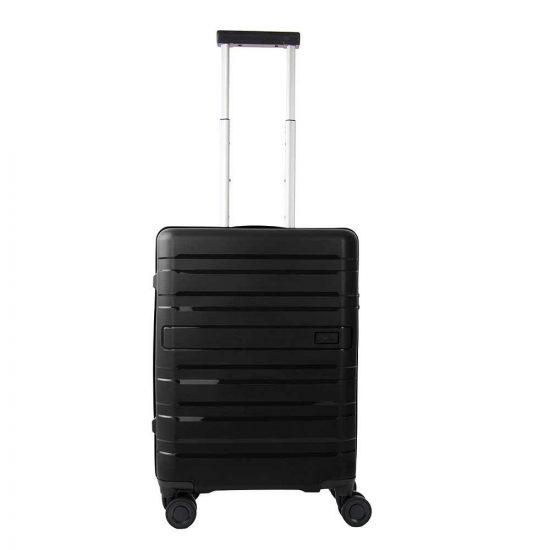 Travelite Kosmos 4 Wiel Trolley S black Harde Koffer