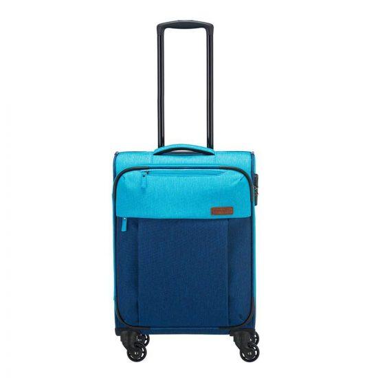 Travelite Neopak 4 Wiel Trolley S navy / blue Zachte koffer