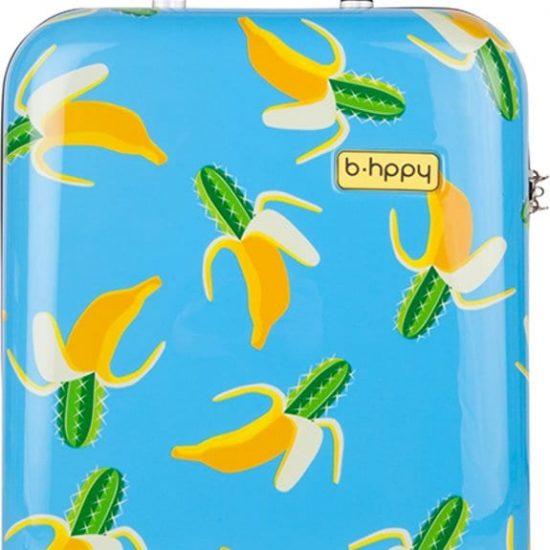 BHPPY Handbagagekoffer - 52 cm - Bananauwch!