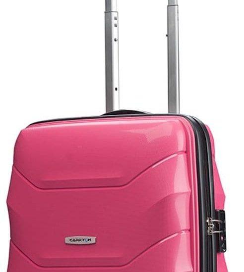 CarryOn Porter 2.0 TSA Handbagagekoffer 55cm - Handbagage Trolley - Gevoerd - Roze
