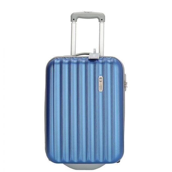 Enrico Benetti Wichita koffer 55 cm steel blue