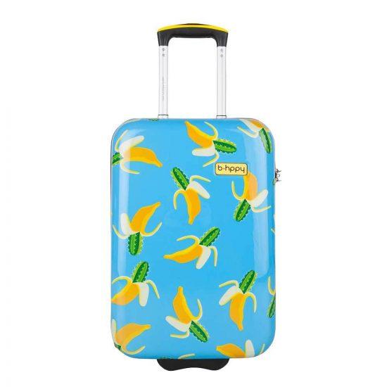 Bhppy Bananauwch! Trolley 55 blue Harde Koffer