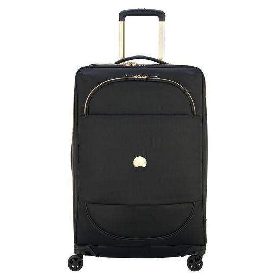 Delsey Montrouge Trolley Case 4 Wheel 69 Expandable Black