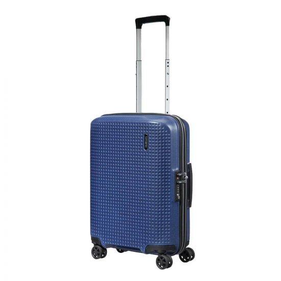 Samsonite Pixon Spinner 55 dark blue Harde Koffer