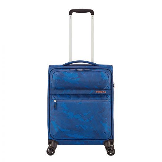 American Tourister Matchup Spinner 55 Print camo blue Zachte koffer