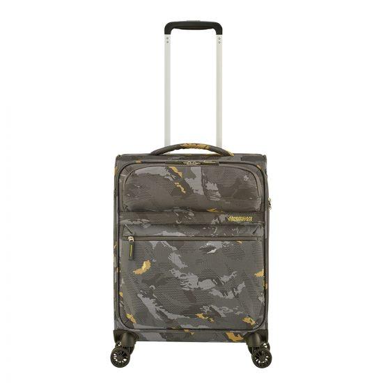 American Tourister Matchup Spinner 55 Print camo grey Zachte koffer