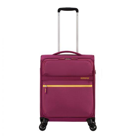 American Tourister Matchup Spinner 55 deep pink Zachte koffer