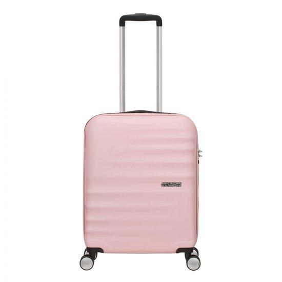 American Tourister Wavebreaker Spinner 55 Velvet pink blush Harde Koffer