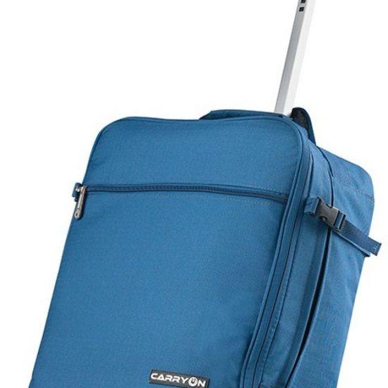 CarryOn Daily Trolley Backpack - Rugzak Trolley 55cm - Handbagage 44 liter - Blauw