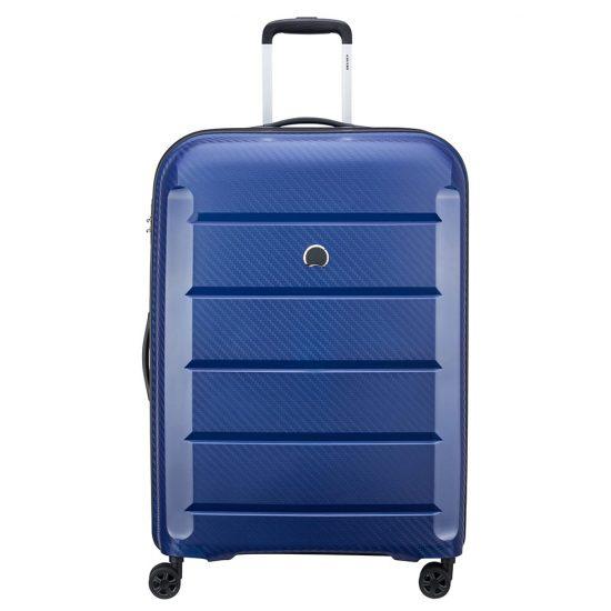 Delsey Binalong 4 Wheel Trolley 75 Blue