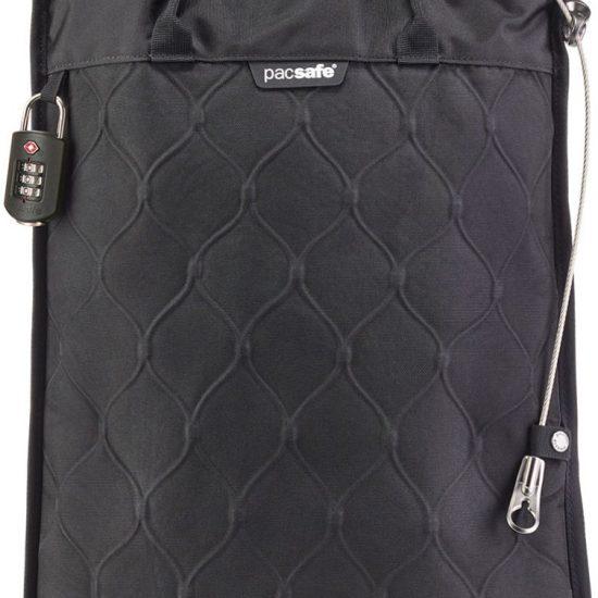 Pacsafe Travelsafe 12L GII-Anti diefstal Portable Safe-12 L-Zwart (Black)