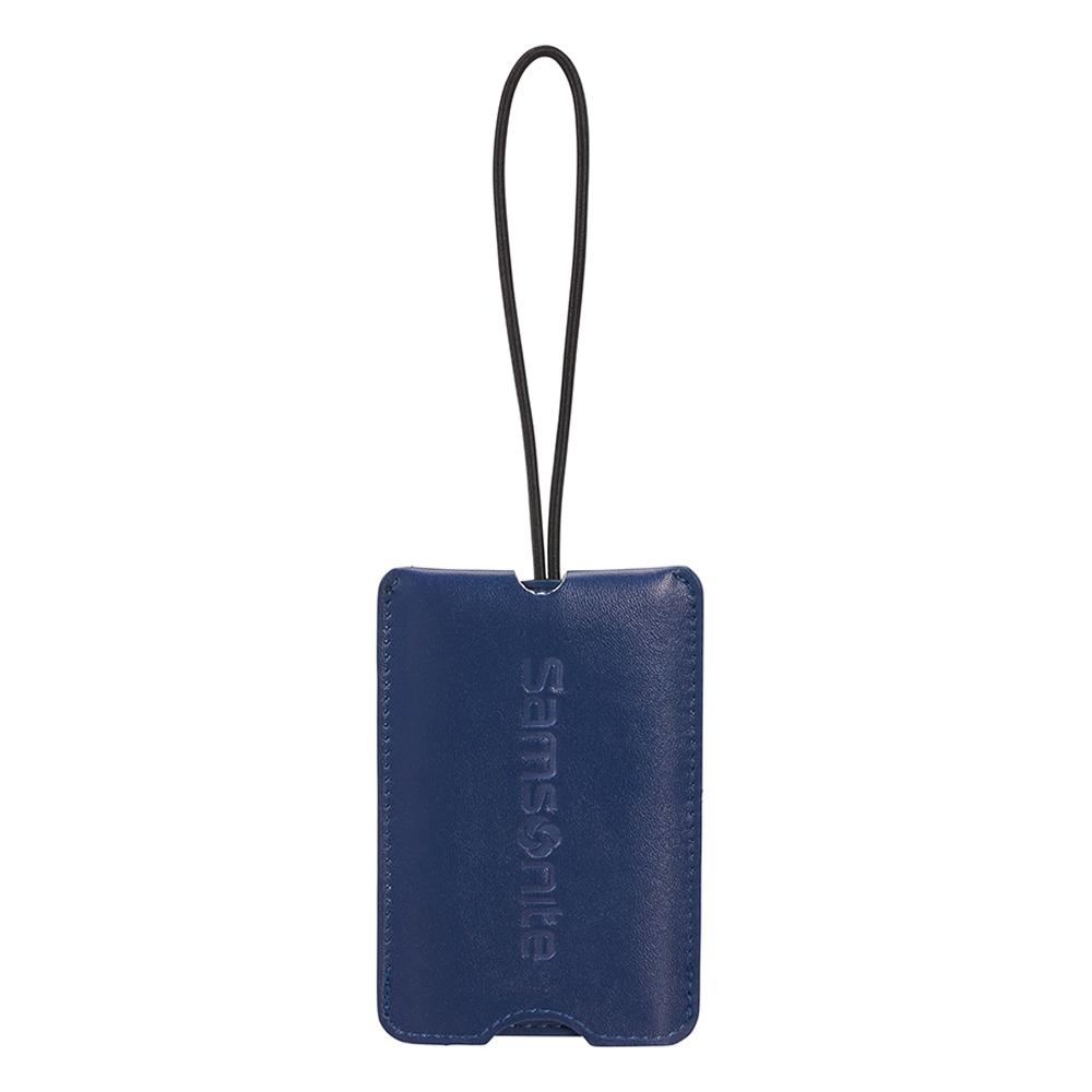 Samsonite kofferlabel blauw