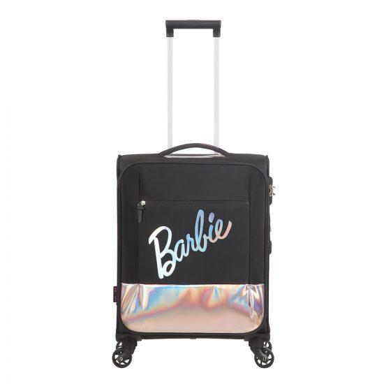 American Tourister Modern Glow Barbie Soft Spinner 55 shimmer power barbie Zachte koffer