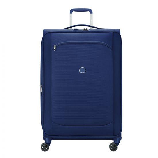 Delsey Montmartre Air 2.0 4 Wheels Expandable Trolley 78 blue Zachte koffer
