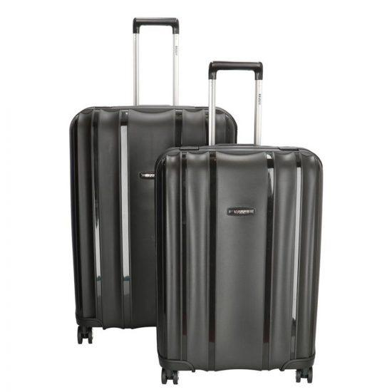 Enrico Benetti Durham kofferset 2-delig black