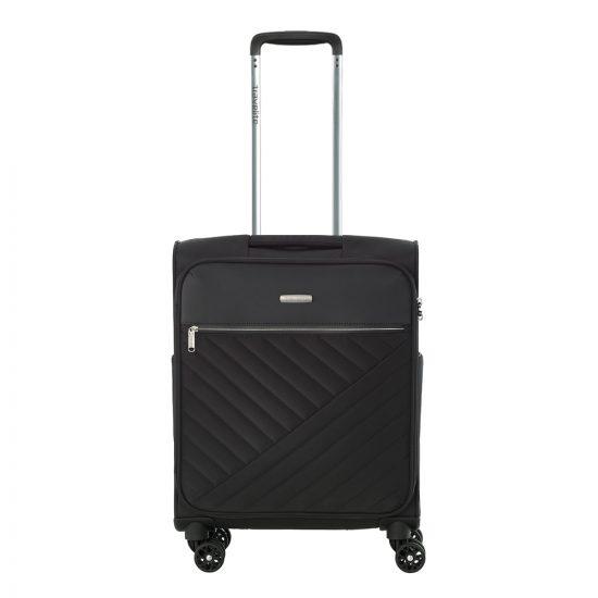 Travelite Jade 4 Wiel Trolley S black Zachte koffer