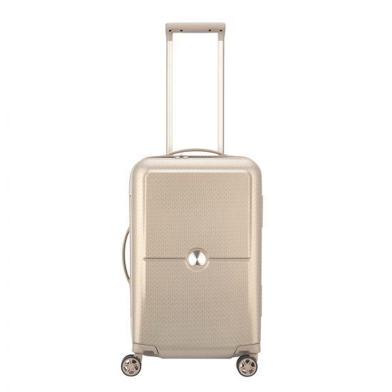Delsey Turenne 4 Wheel Trolley 55 gold Harde Koffer