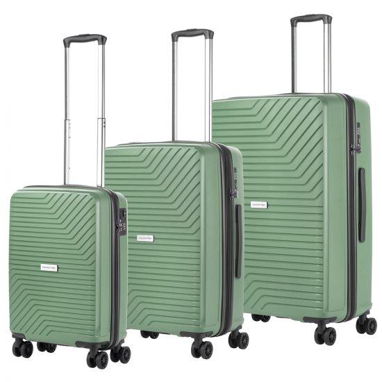 CarryOn Transport Spinner Kofferset Olive Green