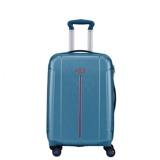Travelite Echo koffer 55 cm aqua