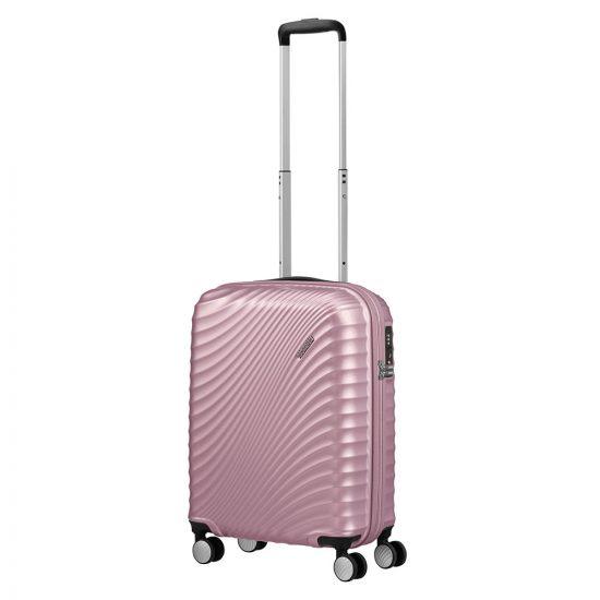 American Tourister Jetglam Spinner 55 Metallic Pink
