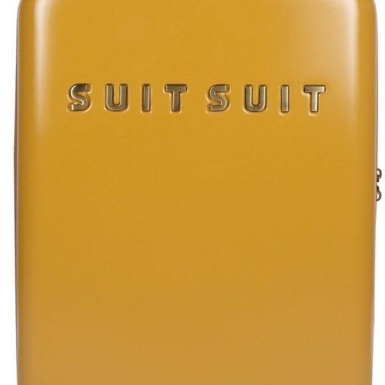 SUITSUIT Fab Seventies Handbagage koffer 55 cm - Lemon Curry