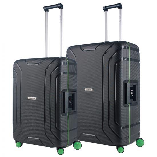 CarryOn Steward Kofferset 2-delig M+L Dark Grey