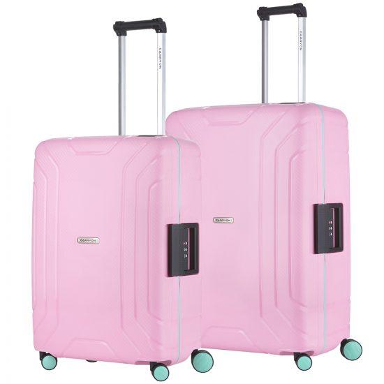 CarryOn Steward Kofferset 2-delig M+L Light Pink